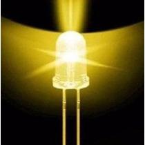 Pack 30 Leds 5mm Amarillo Cristal Arduino Nubbeo