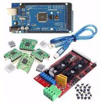 Kit Impresora 3d Arduino Mega 2560 + Ramps + 4 X A4988 Iar