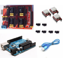 Kit Arduino Cnc Shield + A4988 + Uno+ End Swich