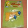1992 Pistola Lanza Trompos Bart Simpson Argentina Blister!!