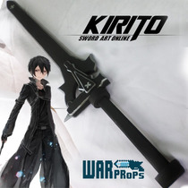 Sword Art Online Kirito Sao Cosplay Replica Espada Warprops
