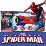 Pistola Arma Storm Shooter Spiderman Ditoys 12 Cuotas