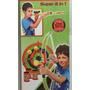 Juego Set 2 En 1 Arco Flecha Y Cervatana Archery Mym 44225
