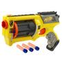 Pistola Nerf N-strike Maverick Rev-6 Incluye 6 Dardos