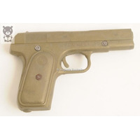 Revolver Plombel 45 Plastico Arma Pistola Antiguo Juguete