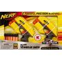 Nerf Scout Ix-3 Set 2 Pistolas 12 Cartuchos Original Filsur