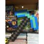 Minecraft Pico De Diamante, Oro Y Fuego, 40 Cm !!!!