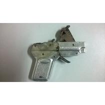 Antiguas Pistolas De Juguete De Lata Marca Rebo