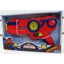 Pistola Spiderman Hombre Araña Max Blaster Luz Sonido