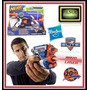 Nerf N-strike Firestrike Con Mira Laser +6 Dardos Hasbro Usa