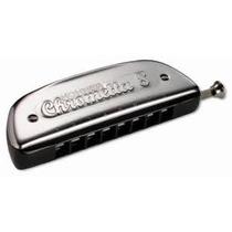 Armónica Cromática Hohner Chrometta 8 32 Voces Con Estuche