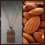 Difusor Ambiental Varillas Bambú Fragancia Almendras 125 Ml