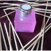 Envase Esmerilado Soft Touch Difusor Aromático Con Varillas