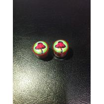 Expansores Hongos Rojos 11mm Importados De Ee.uu.