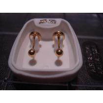 Aritos Abridores Oro 18k. Nº 2