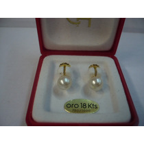 Aro Perla Cultivada A Rosca Oro18k.ch(450) Presentes Js