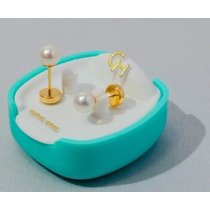 Abridor De Oro 18klts Con Perlas Cultivadas Ch115