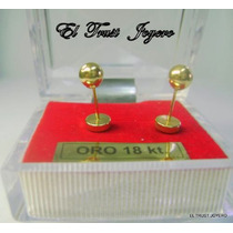 Aritos Abridores Oro 18k. Nº6 El Trust Joyero Garantia Escr