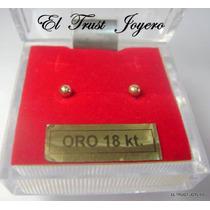 Aritos Abridores Oro 18k. Nº 1 El Trust Joyero Garantia Escr