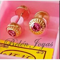 Abridores De Oro 18k Rosas!