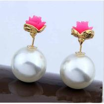 Aros Dior De Perlas