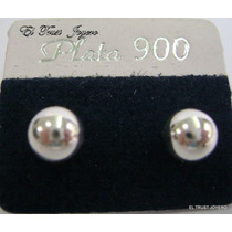 Par Aros Plata 900 Bolita Nº 6 Pasante Garantia El Trust
