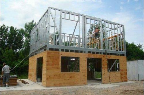 Arquitecto constructora hormigon planos steel framing - Casas steel framing ...