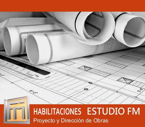 Arquitecto Ley 257- Planos Municipales Habilitaciones. Obras