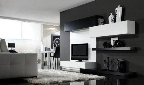 Arquiycarpinteros Mueble Lcd Rack Tv Living Melamina Moderno