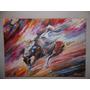 Cuadro Pintura Al Oleo Y Espatula Copia Libre Leonid Afremov