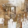 Cuadro Alto Design 3335-2 Oleos & Acrilicos. Arte Moderno.