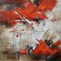 Cuadro Alto Design 5094-2 Oleos & Acrilicos. Arte Moderno.