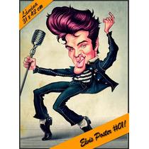 Láminas Decoupage Autoadhesivas - Betty Boop - Elvis Poster