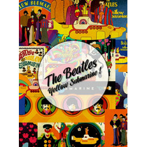 Láminas Decoupage Autoadhesivas The Beatles - Varios Diseños