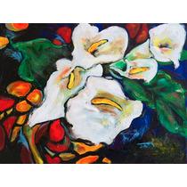 Cuadro De Pintura Impresa En Tela Canvas Con Bastidor 60x44