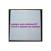 Azulejo Con Polimero Listos Para Sublimar, Los Mejores!!!