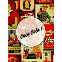 Láminas Decoupage Autoadhesivas - Varios Diseños - Coca Cola