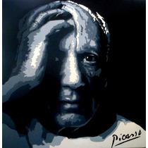 Cuadros Pintados A Mano Unicos - Picasso