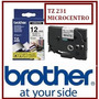 Cinta Brother Tz 231 12mm 8 Mts Tz231 Microcentro