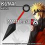 Kunai Naruto Acero 440 Pavonado, Cuchillo, Bleach, One Piece