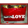 Regalo Dia De Los Enamorados!bombones,caja Madera, ,