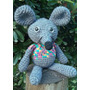 Ratón Crochet Muñeco Amigurumi Decoración