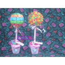 Topiarios,arboles De Golosinas,centro De Mesa.mesa Dulce