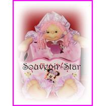 Souvenir Regalo Pañalera Portacosmeticos Con Muñeco Soft Nen