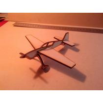 10 Avionetas Souvenir En Mdf Fibrofacil