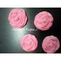 Apliques En Porcelana Fria Rosas (pack)
