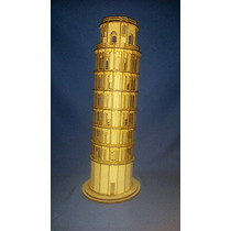 Maqueta Torre De Pisa Corte Laser