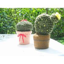 Cactus En Maceta Crochet
