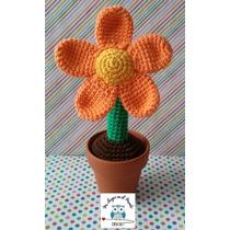 Flor Tejida Al Crochet - Palermo