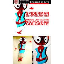 Spiderman En Porcelana Fria